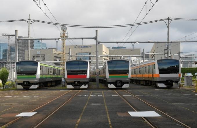 JR東日本、8月26日に東京総合車...