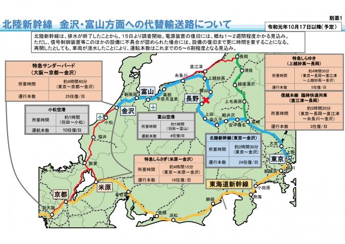 北陸 新幹線 運行