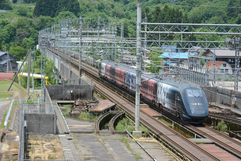 ニュース画像 1枚目:上越新幹線 浦佐駅付近(おなだいさん撮影)