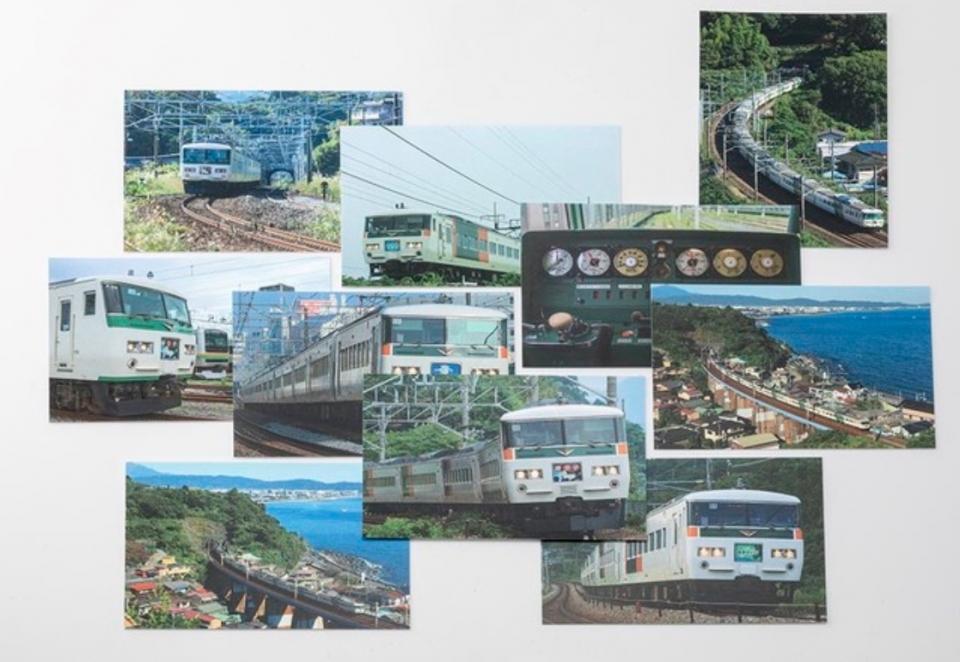ニュース画像 1枚目:全10種類 185系のポストカード