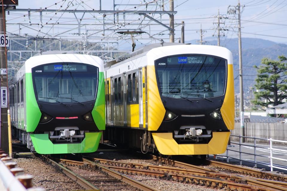 ニュース画像 2枚目:静岡鉄道A3000形(apphgさん撮影)