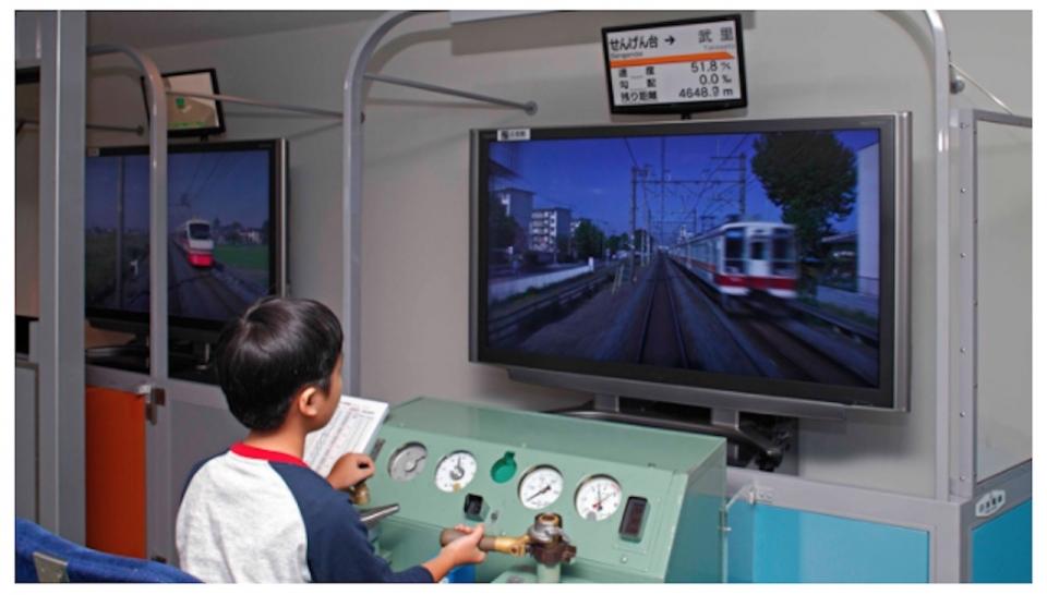 ニュース画像 3枚目:電車のシミュレーション