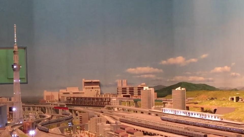 ニュース画像 4枚目:東武鉄道の一日を紹介する大パノラマ