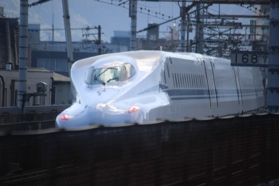 ニュース画像 1枚目:N700S新幹線(hiroshiさん撮影)