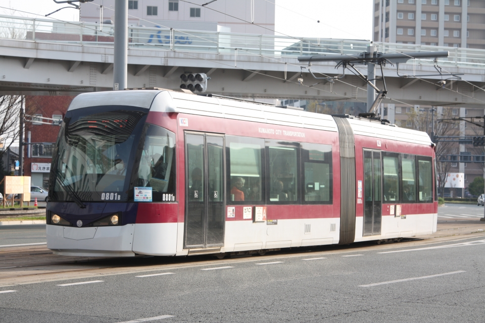 ニュース画像 18枚目:熊本市電0800形(フレッシュマリオさん撮影)