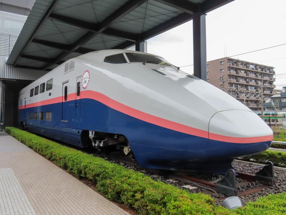 ニュース画像 3枚目:鉄道博物館に展示されている「E153-104」(さんたかさん撮影)