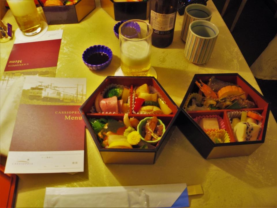 ニュース画像 4枚目:和食の一例 (南方極星さん撮影)