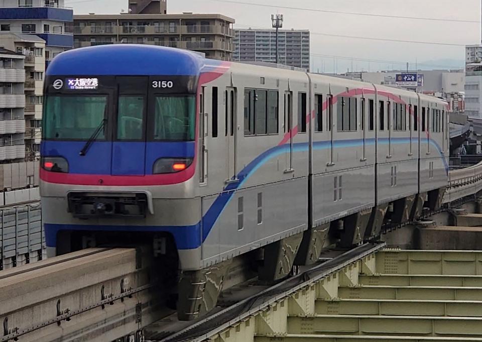 ニュース画像 9枚目:大阪モノレール3000系・3150F編成(Yoshi@LC5820さん撮影)