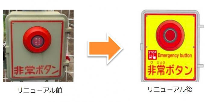 JR東日本、長野支社管内の踏切240カ所で非常ボタンをリニューアル ...