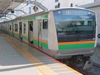 運行路線 Jr東日本 湘南新宿ライン 宇都宮 逗子 鉄レコ 鉄道乗車