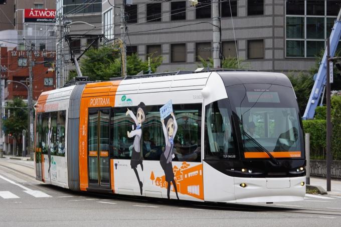 富山ライトレールTLR0600形電車 ...