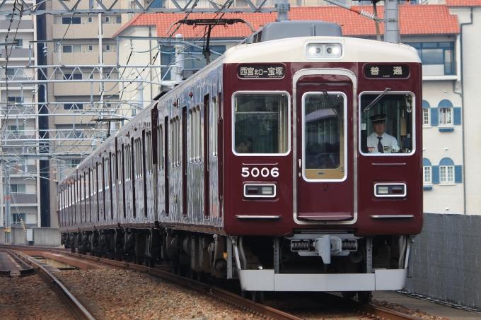 阪急電鉄 阪急5000系電車 5006 ...