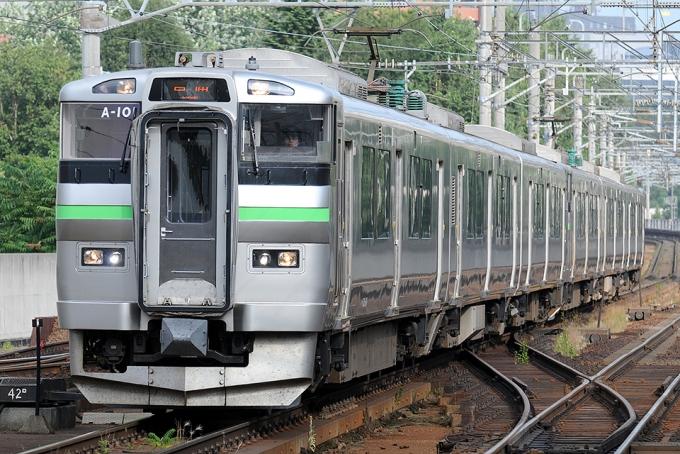 JR北海道735系電車 クハ735-201 ...