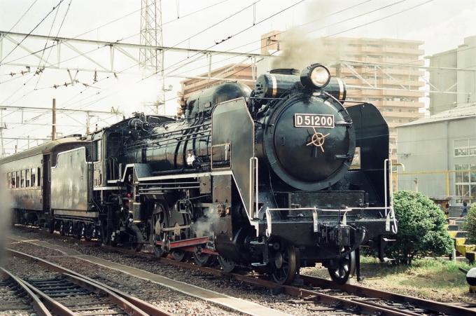 JR西日本 国鉄D51形蒸気機関車 D...