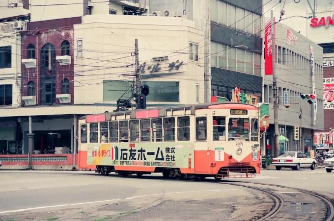 加越能鉄道デ7000形電車 7071 高岡駅停留場 鉄道フォト・写真 by tokadaさん [レイルラボ | RailLab]