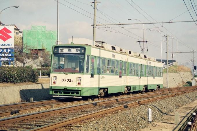 広島電鉄3700形電車