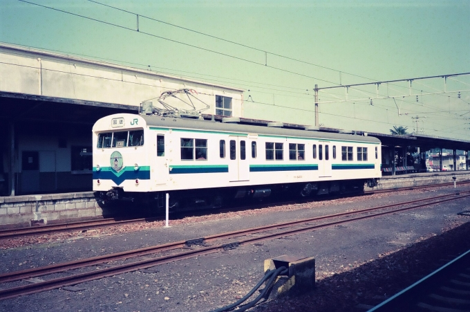 JR西日本 国鉄72系電車 クモハ84...