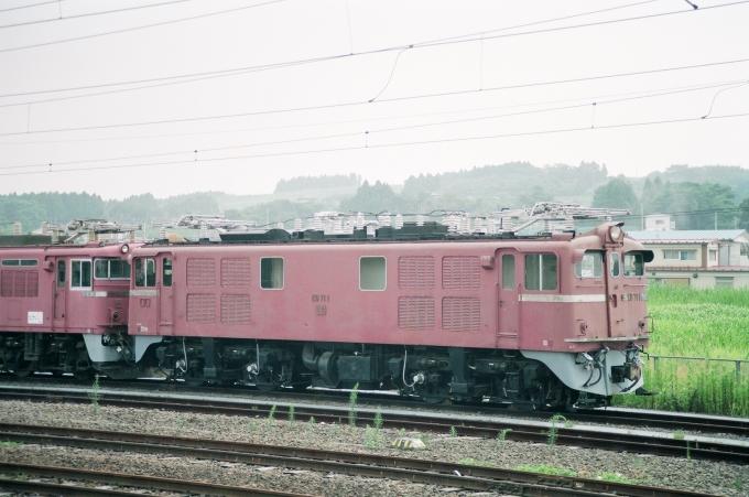 国鉄ED71形電気機関車 ED71 1 利府駅 鉄道フォト・写真 by tokadaさん [レイルラボ | RailLab]