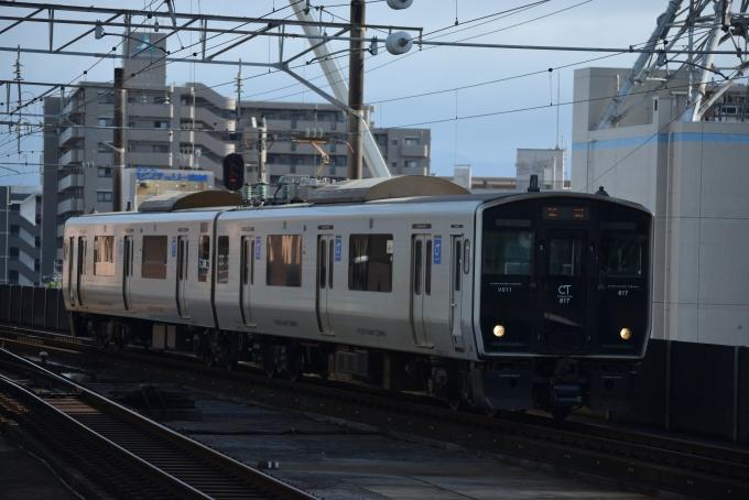 JR九州817系電車 クハ816-11 宮...