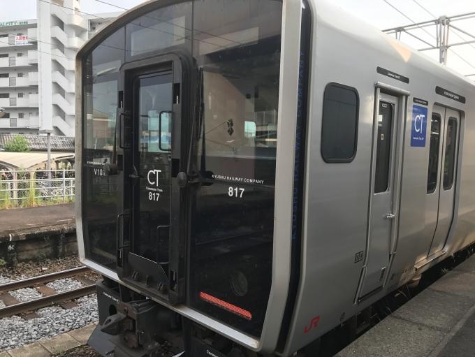 JR九州817系電車 クモハ817-1001...