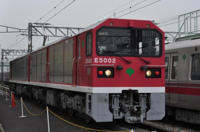 東京都交通局E5000形電気機関車 ...