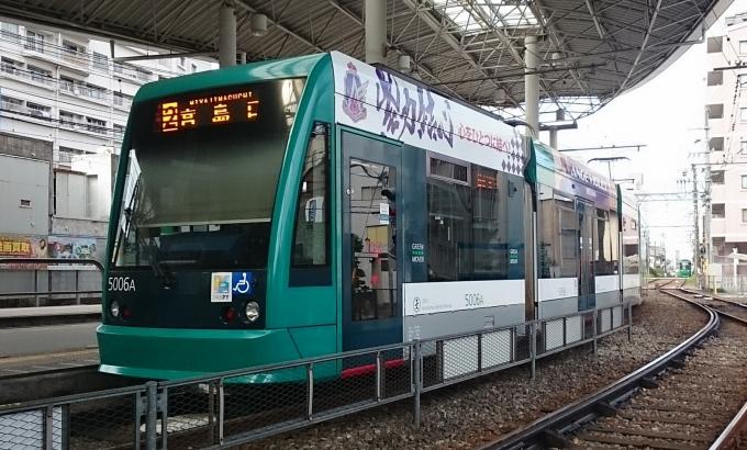 広島電鉄5000形電車 GREEN MOVER...
