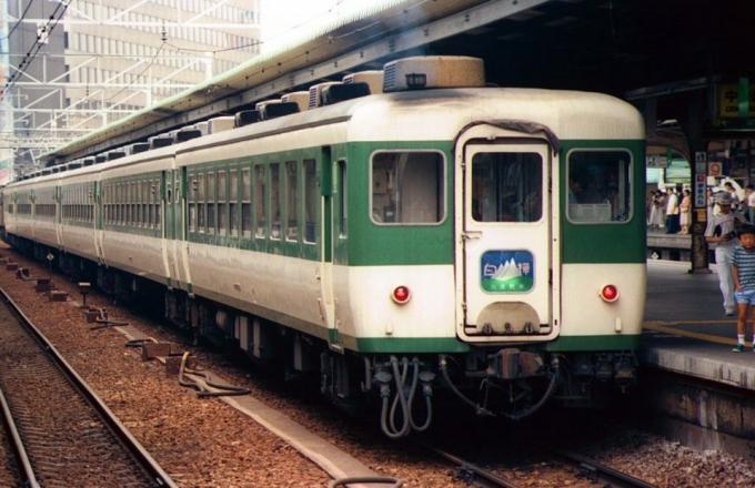 JR東日本 国鉄12系客車 ジョイフルトレイン白樺 大阪駅 鉄道フォト ...