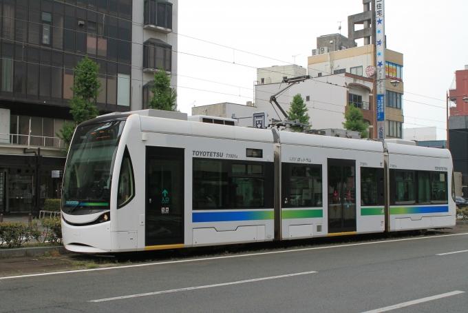豊橋鉄道T1000形電車 T1001A 駅...