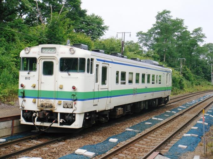 JR北海道 国鉄キハ40系気動車 キハ40 810 姫川駅 (北海道) 鉄道フォト ...