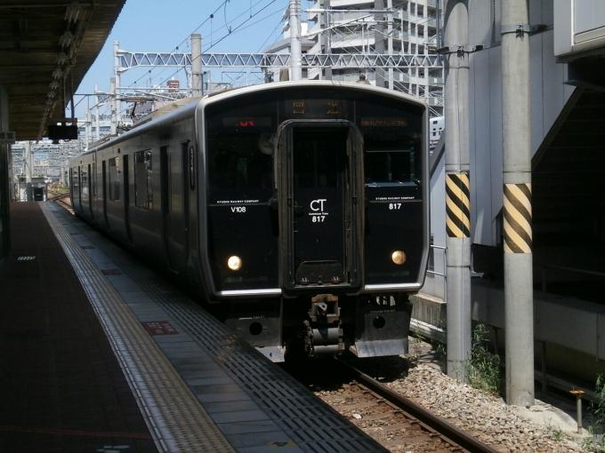 JR九州817系電車 クハ816-1008 ...