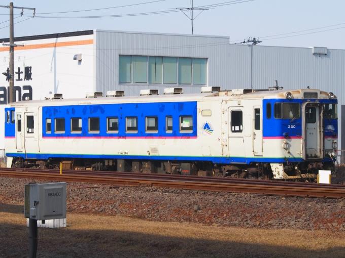 JR北海道 国鉄キハ40系気動車 キハ40 360 苫小牧駅 鉄道フォト・写真 ...