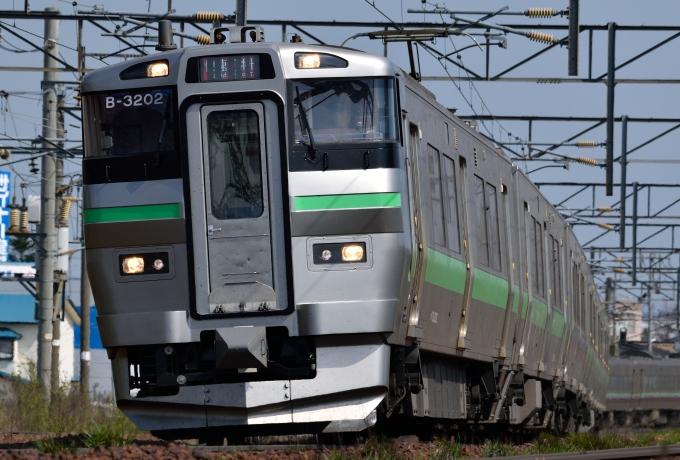 JR北海道733系電車 苗穂駅 鉄道...