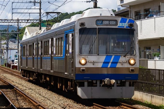 静岡鉄道1000形電車 1511 古庄駅 鉄道フォト・写真 by shingenさん ...