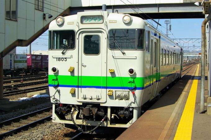JR北海道 国鉄キハ40系気動車 キハ40 1805 五稜郭駅 (JR) 鉄道フォト ...