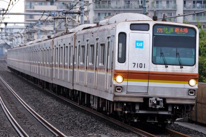 東京メトロ 営団7000系電車 7101 中村橋駅 鉄道フォト・写真 by ゆきパ ...