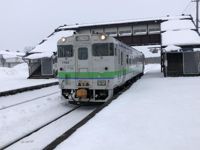 JR北海道 国鉄キハ40系気動車 キハ40 1723 剣淵駅 鉄道フォト・写真 by ...