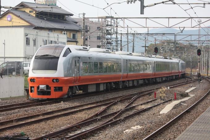 JR東日本E653系電車 フレッシュひたち クハE653-102 友部駅 鉄道フォト ...