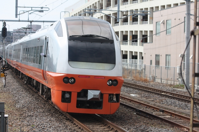 JR東日本E653系電車 フレッシュひたち クハE653-102 土浦駅 鉄道フォト ...
