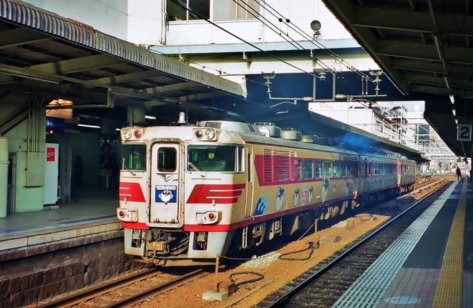 JR西日本 国鉄キハ181系気動車 下関ふくフク号 キハ181 広島駅 鉄道 ...