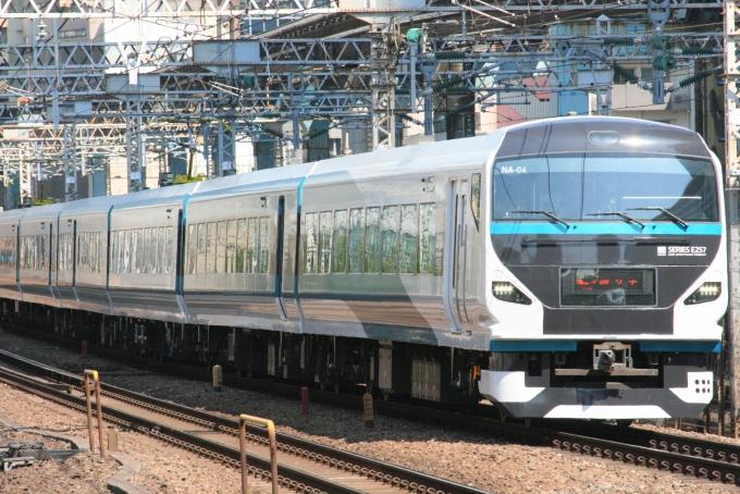 JR東日本E257系電車 踊り子 クハE257-2004 田町駅 (東京都) 鉄道フォト ...
