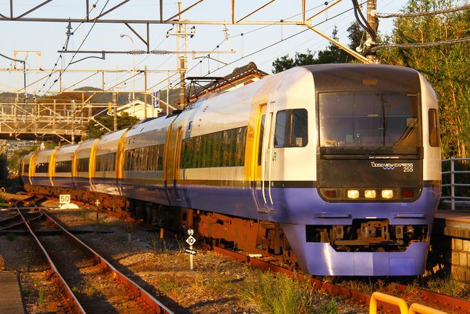 JR東日本255系電車 新宿わかしお...